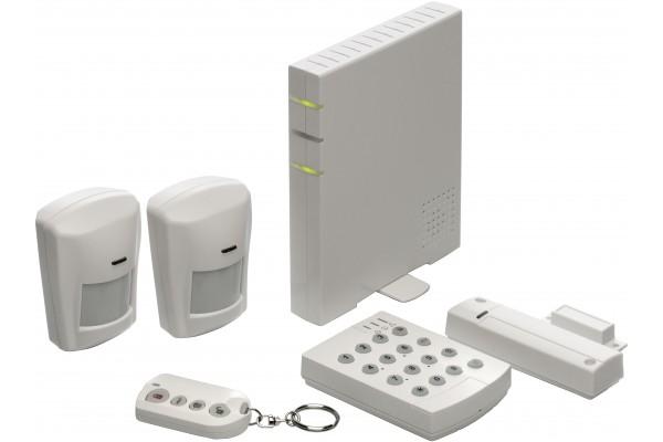 kit centrale alarme et domotique sur ip 047900. Black Bedroom Furniture Sets. Home Design Ideas