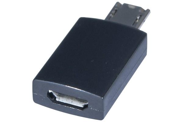 adaptateur usb 2 0 micro b 5 pins f micro b 11 pins m 149406. Black Bedroom Furniture Sets. Home Design Ideas