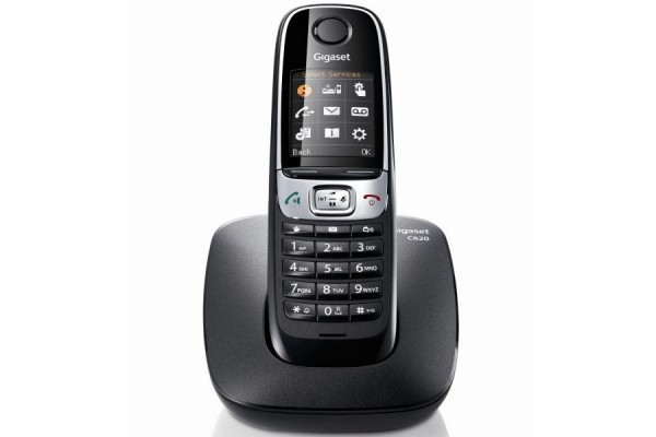 gigaset c620 t l phone sans fil dect mono noir 280620. Black Bedroom Furniture Sets. Home Design Ideas