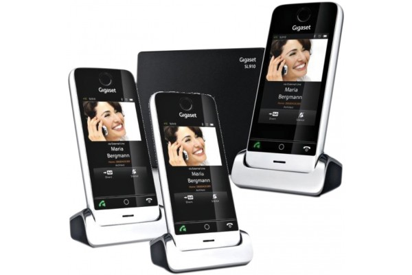 gigaset sl910a t l tactile dect bluetooth r pondeur trio 282913. Black Bedroom Furniture Sets. Home Design Ideas