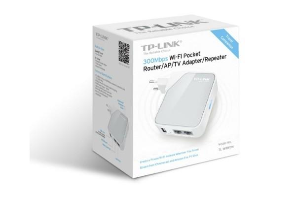 Tp link tl wr810n routeur wifi 300mbps sur prise - Prise electrique wifi ...