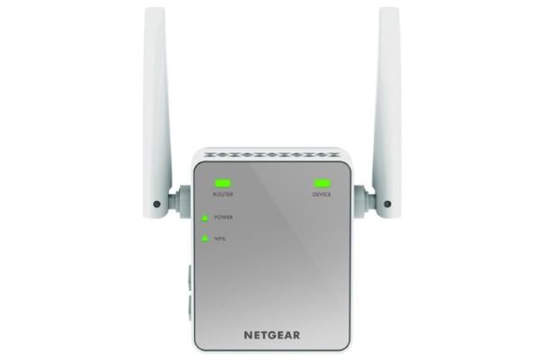 Netgear ex2700 repeteur universel wifi n300 302879 for Repeteur wifi exterieur netgear