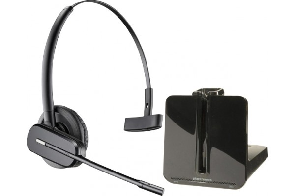 plantronics cs540a casque sans fil t l phone de bureau 1 couteur 465526. Black Bedroom Furniture Sets. Home Design Ideas